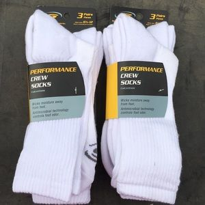 Brand new men's crew socks.